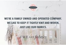 Quotes ✽ / #WeAreFabrics / by Art Gallery Fabrics