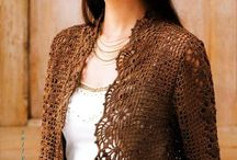 Crochet - Cardigan, Jacket