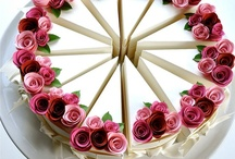 Cakes / cakes with roses