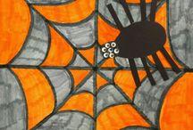 pavouci, příšerky, zvířata