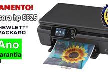 Impressora Multifuncional Jato de Tinta HP 5525