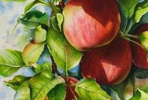 Painting Fruits & Vegetables / by Francoise Chauray