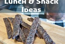 Lunch and snack ideas / by Kristy McCarter