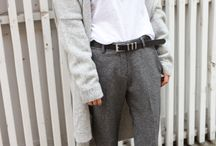 FASHION INSPIRATIONS / Daily Mens and Women's fashion inspiration. I like a variety of perspective views in fashion. Different brands, cultures, textures, and colors.