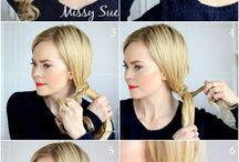 Try these hairstyles someday..