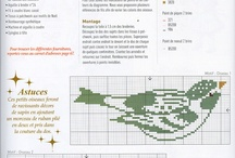 point de croix, broderie, Graph Patterns , embroidery, Cross stitches / by Houria