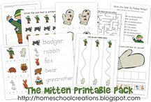 Kindergarten--Jan.--The Mitten / by Amber Bilow