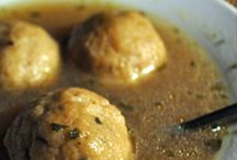 Matzo Ball Soup / Sinkers, floaters, stuffed or classic...matzo ball isn't just how your bubbe makes it.  / by The Nosher