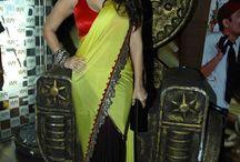 Bollywood Celebrities saree