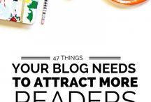 Blogging - increasing readership and influence