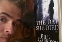 Castle Gate Press's first book, The Day She Died / The Day She Died by Bill Garrison