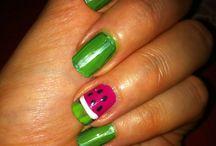 My nail art..