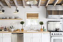 Summer cottage kitchen