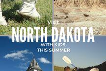 Cestování-USA-Severní Dakota
