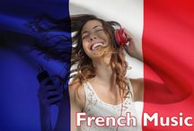 Modern French Songs / Photos and Videos of contemporary and famous French singers - learn French with French songs and French music. More about French music vocabulary in French Today's article  http://www.frenchtoday.com/blog/french-music-vocabulary-fete-de-la-musique-easy-bilingual-story