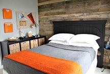 bens room beige brown orange green