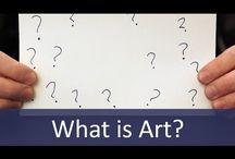 WAt is en WAAROM kunst? what is and why art? / Wat is nou eigenlijk kunst? Wanneer is het kunst? Waarom is kunst belangrijk? Wat kan je ermee? Ik probeer dit bord te vullen met afbeeldingen die jou kunnen helpen om hier antwoorden op te vinden...