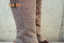 Boot cuffs de tea