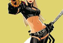 Comic Women Character - Magik (X-Men)