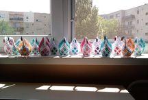 3D origami és quilling munkáim