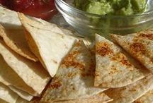 Baked toco chips