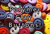 Polymer Clay * Buttons * Beads *