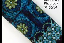 Bohemian Rhapsody Fabric Collection / Bohemian Rhapsody quilt fabric, $9.99/yd at Little Red Quilt House!