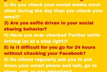 Social Media Self-Tests / Here are some of the self-tests I use in my blog and social media marketing classes.
