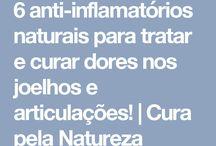 Chá anti -inflamatório e para articulaçōes
