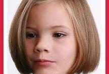 Little Girl Hairstyles / by Stephanie Johnson Carrington
