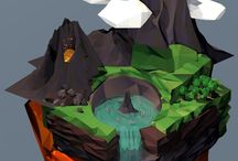 CREATE - 3D Low Poly