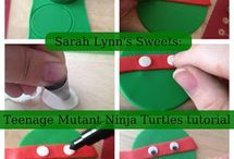 tmnt party ideas / by Carla Guevara