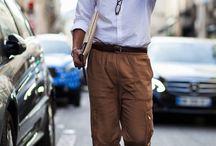 Men's Street Style at London, Milan and Paris Fashion Week