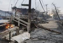 Hurricane Sandy / A true disaster / by Jane Peters - Los Angeles Real Estate