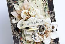 Открытки на день рождения / Здесь собраны идеи открыток на день рождения