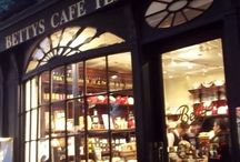 England and tearooms...
