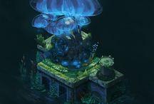 Landscape - Ruins/Overgrown