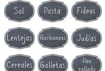 Etiquetas imprimibles