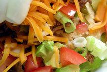 Salads  / by Jessica Shaw