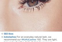lashes and nails