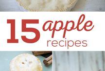 Blogger's Apple Recipes/Fall