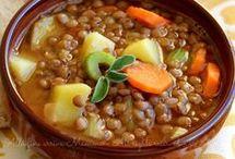 Zuppe e minestre invernali