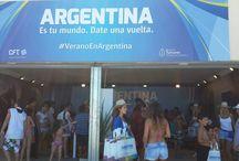 """Espacio #ArgentinaEsTuMundo / Te invitamos a visitar el espacio del Ministerio de Turismo de la Nación """"Argentina es tu mundo. Date una vuelta"""", en donde podrás disfrutar de juegos interactivos, regalos, shows, degustaciones, música y mucho más!"""