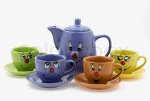 Tea pots and tea cups / by Allison Troxel