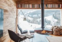 Cabin Ideas / Inspiration for our future cabin: cabins, cottages, getaways, woods, up north,