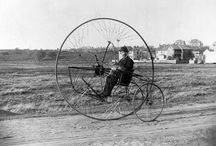 Transportation: Bike & Trike History / Bicycles and tricycles of days gone by
