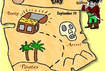 Pirates / September 19 is Talk Like a Pirate Day~