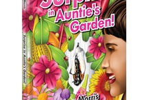 Author, Surprise in Auntie's Garden! in English and Spanish / 2nd Children's Book, illustrated by Heather Varkarotas