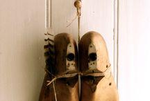 schoenmal, brocante schoenen ed
