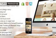 Интернет-магазин на платформе Shopify / Старт работы магазина на платформе Shopify